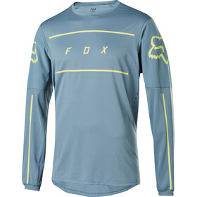 Fox Flexair Fine Line LS Jersey Herre light blue